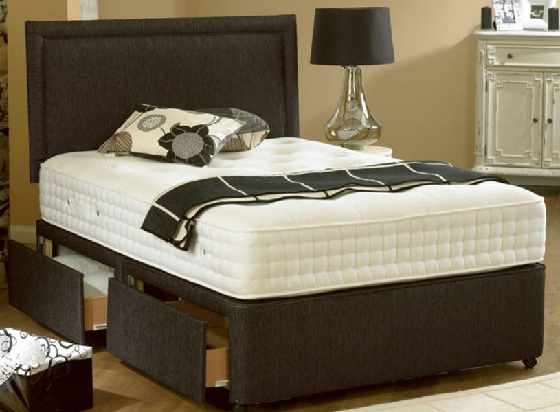 Oasis 3000 6 39 super kingsize mattress 2 drawer divan bed for Divan 506