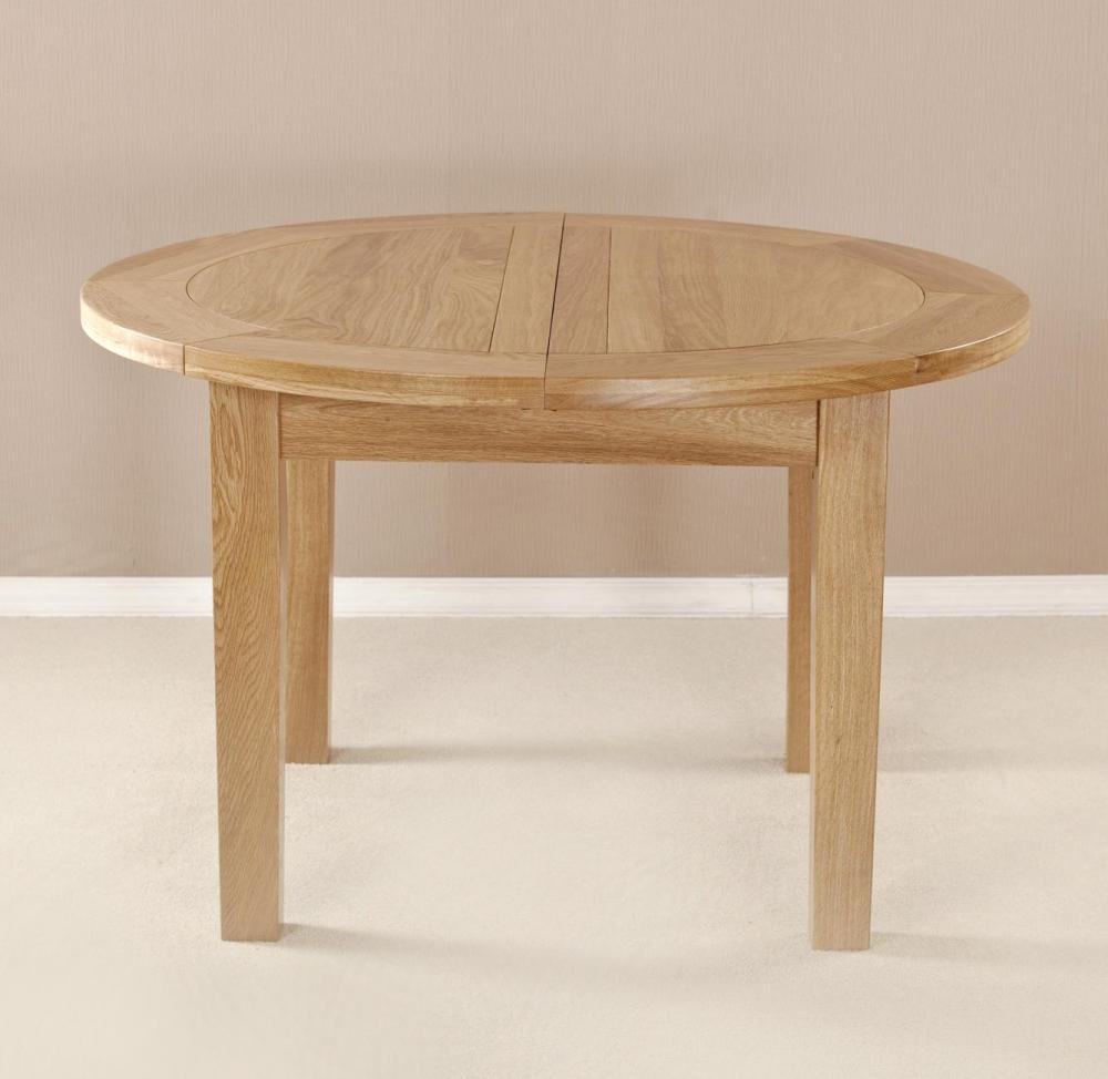 Milano 4ft 1in round flip top table for 4ft sofa table