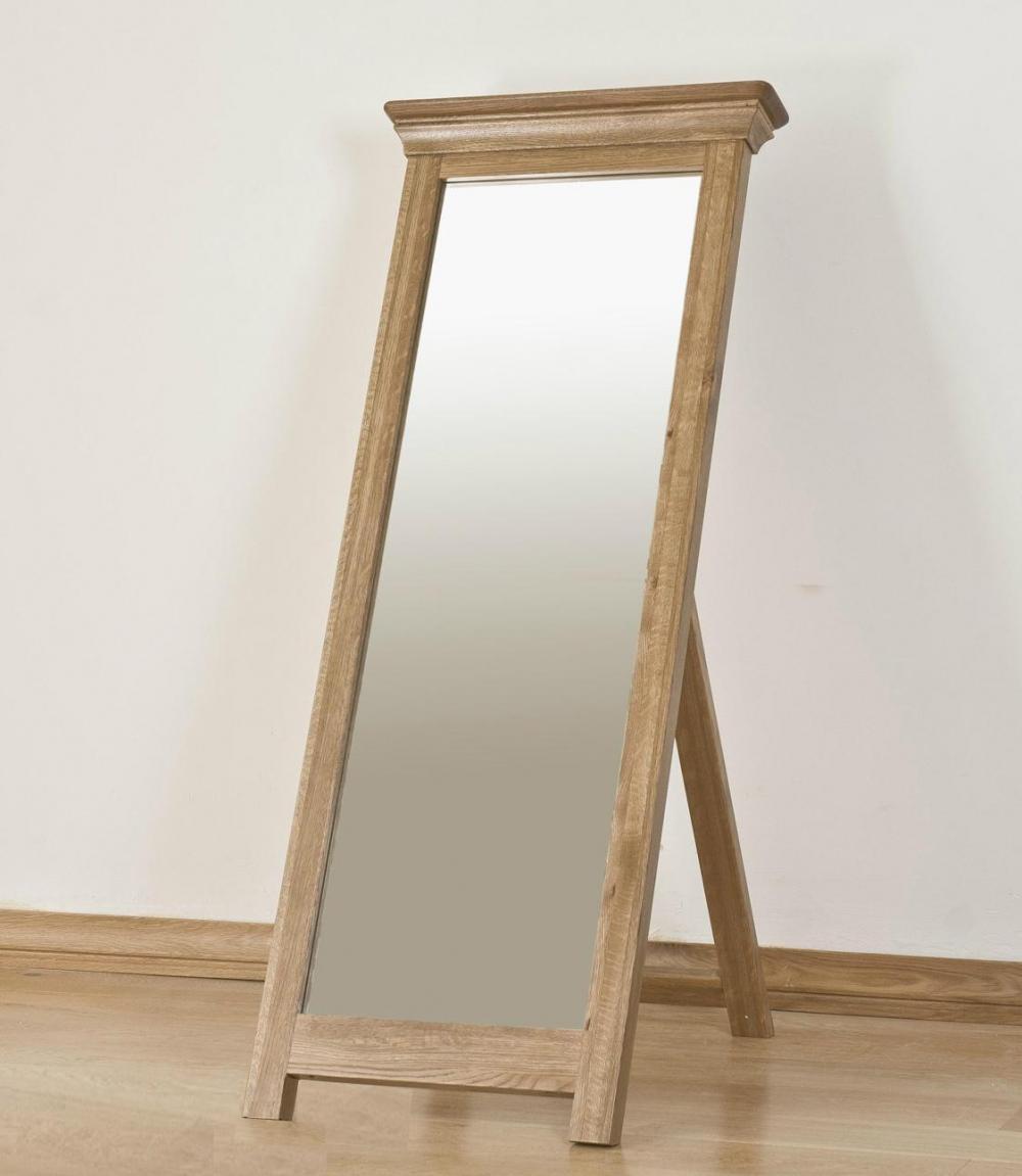 Loire Oak Cheval Mirror