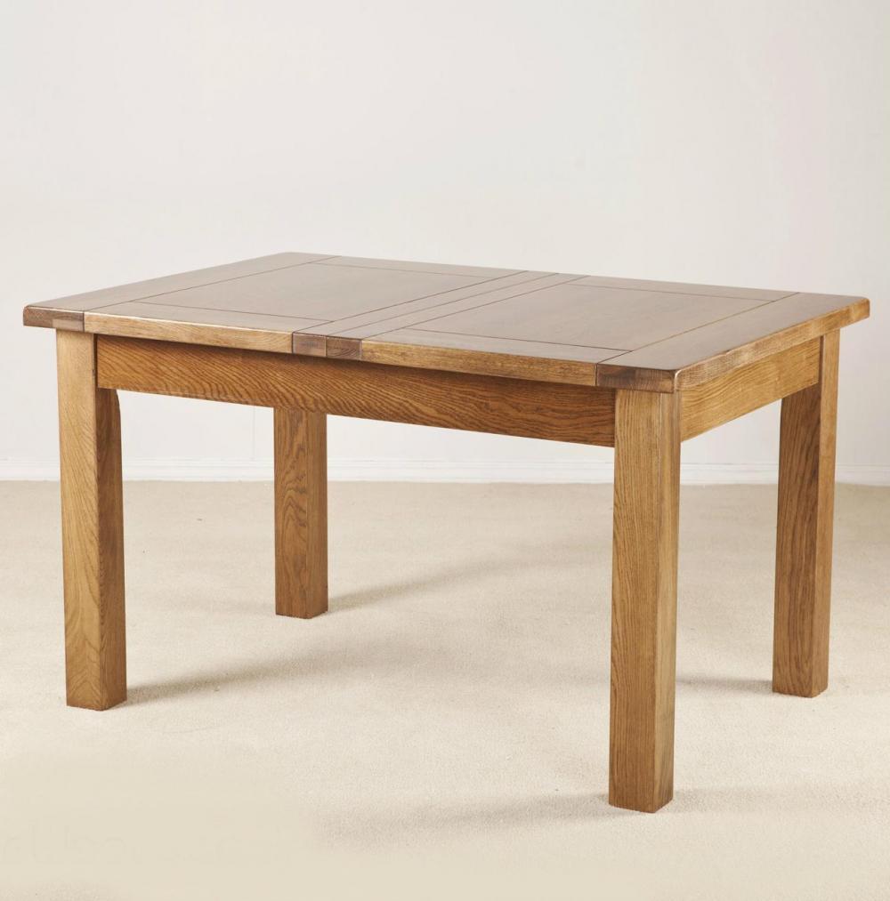 Montana 4ft 6in extending oak table for 4ft sofa table