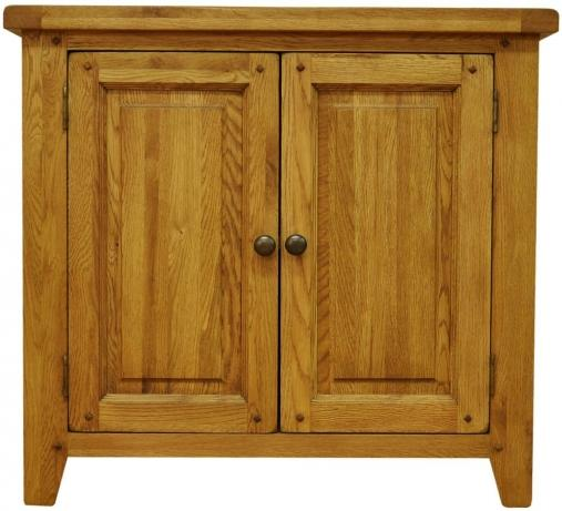 Malvern large oak cupboard for Big cupboard