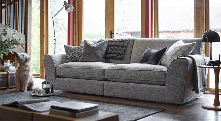 Astounding Ashley Manor Calvin 4 Seater Sofa Home Interior And Landscaping Eliaenasavecom