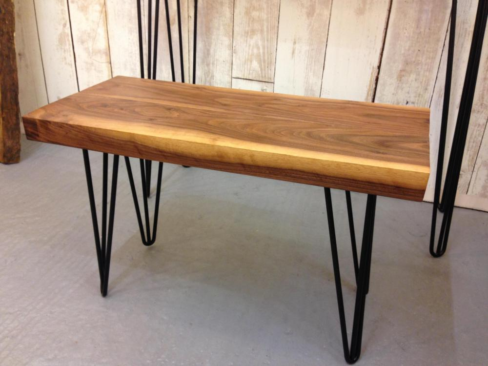 Black Walnut Coffee Table Handmade Live Edge