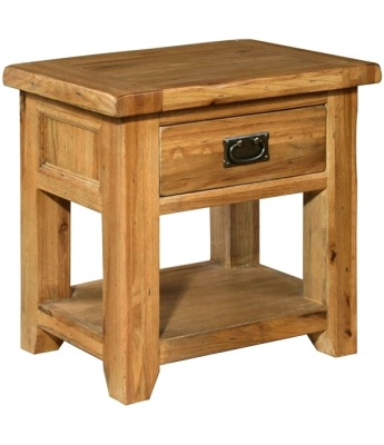 Chartres 1 Drawer Bedside Table