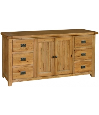 Chartres 6 Drawer Large Sideboard