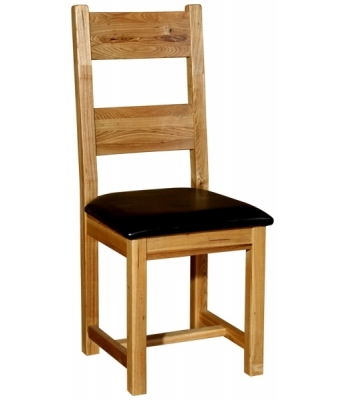 Chartres Dining Chair with PU Seat