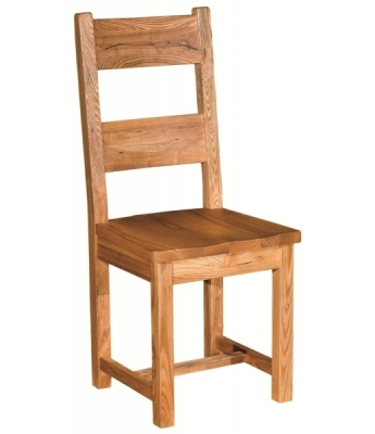Chartres Dining Chair with Wooden Seat