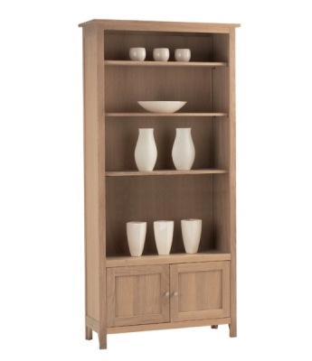 Nimbus Large Bookcase with Cupboard
