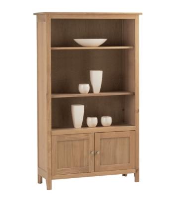 Nimbus Medium Bookcase with Cupboard