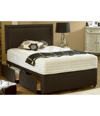 Oasis 3000- 4'6 Double Mattress & 2 Drawer Divan Bed