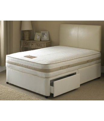 Ava Memory Pocket 1000 - 5' Kingsize Mattress & 2 Drawer Divan Bed