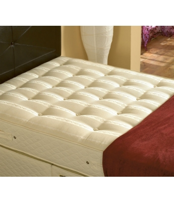 Executive 1000 - 4'6 Double Mattress & 2 Drawer Divan Bed