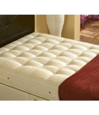 Executive 1000 - 4'6 Double Mattress & 2 Drawer Divan Bed
