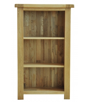 Dakota 3ft Narrow Oak Bookcase