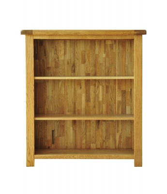 Dakota 3ft Wide Oak Bookcase