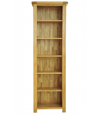 Dakota 6ft Narrow Oak Bookcase