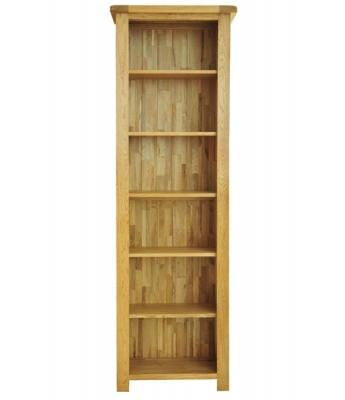 Dakota 6ft Narrow Oak Bookcase