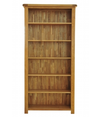 Dakota 6ft Wide Oak Bookcase