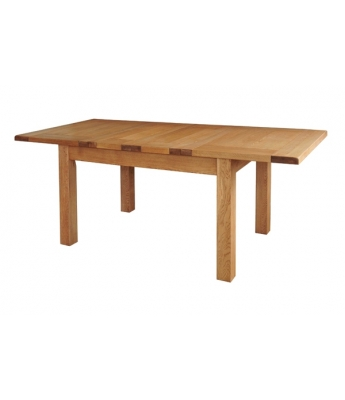 Dakota 4ft 6in Oak Extending Table