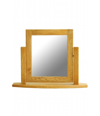 Dakota Oak Single Dressing Table Mirror