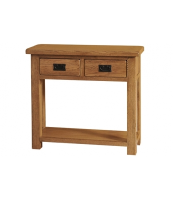 Montana Console Table 2 Drawer