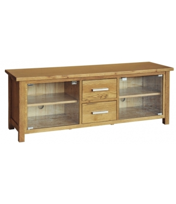 Utah Large TV Unit with Glass