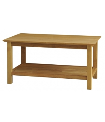 Utah Large Oak Coffee Table