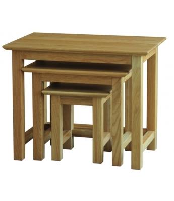Utah Small Oak Nest of Tables