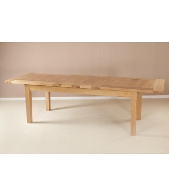 Utah 6ft 8in Oak Extending Table