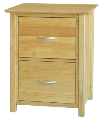 Fortune Woods Milano 2 Drawer Filing Cabinet