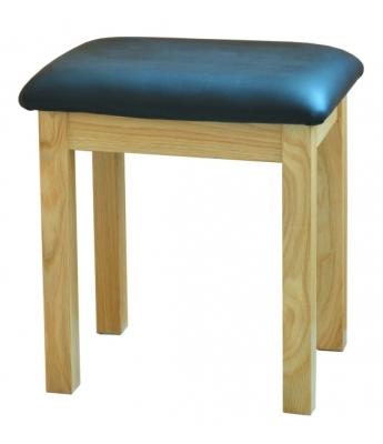 Utah Oak Dressing Table Stool