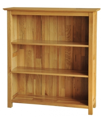 Utah 3ft Wide Oak Bookcase