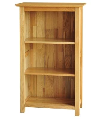 Utah 3ft Narrow Oak Bookcase