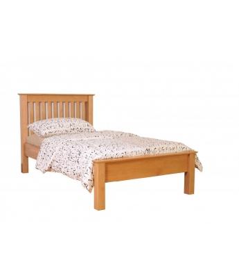 Utah Oak 3ft Low Foot End Bed