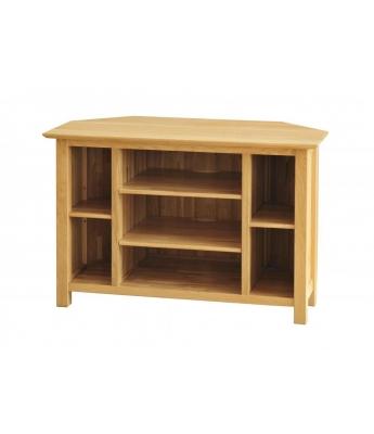 Utah Oak Corner TV Cabinet