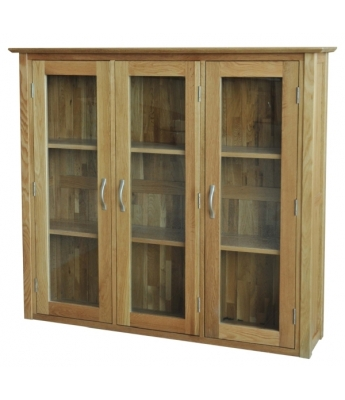 Utah Glass Door Oak Dresser Top