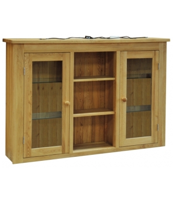 Sierra  1.5 Door Glazed Dresser Top