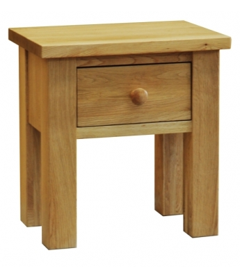 Sierra  Lamp Table with Drawer