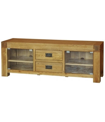 Fortune Woods Boston Large Oak TV Unit