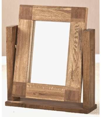 Fortune Woods Boston Dressing Table Oak Mirror