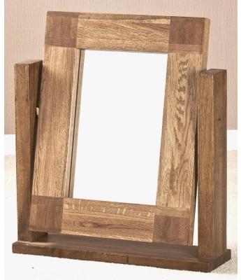 Fortune Woods Boston Dressing Table Oak Mirror