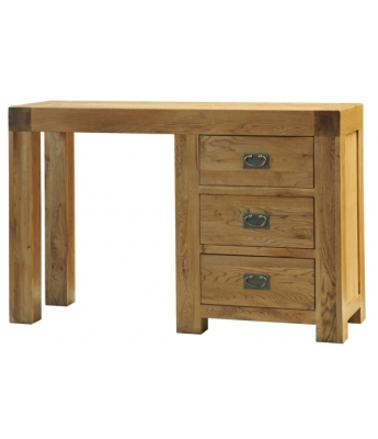 Fortune Woods Boston Oak Single Dressing Table