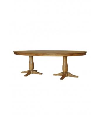 Loire Oak Oval Table 1.2m X 2.4m