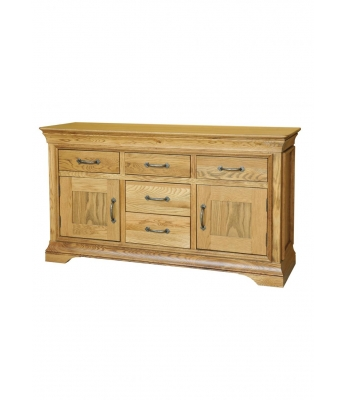 Loire 4ft 6in Oak Dresser Base