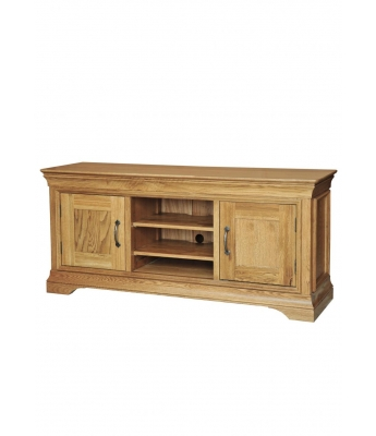 Loire Large Oak TV Unit