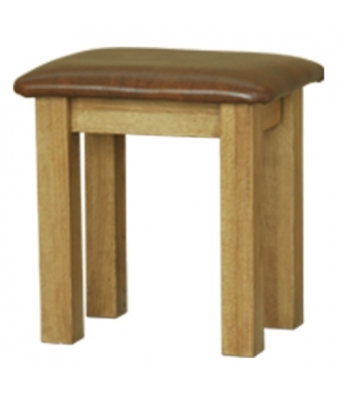 Loire Oak Dressing Table Stool