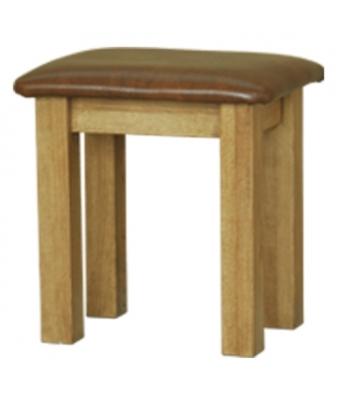 Loire Oak Dressing Table Stool