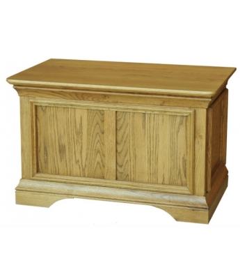 Bordeaux Small Blanket Box