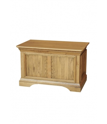 Loire Oak Blanket Box