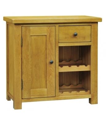 Salinas Oak Wine Cabinet